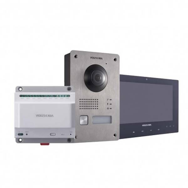 interphone video hager filaire